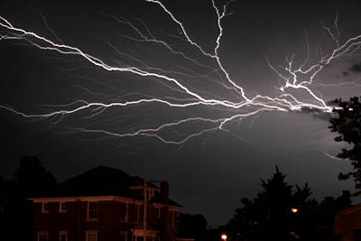 Photograph - Lightening by David Dunham