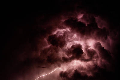Photograph - Lightening by Erica Kinsella