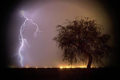Photograph - Lightening by Hugh Smith