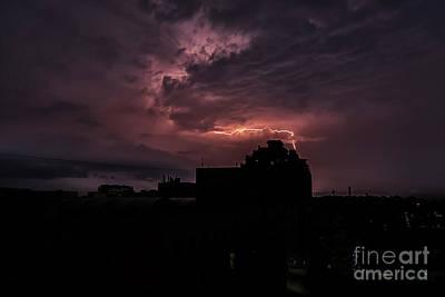 Photograph - Lightening by Kiran Joshi
