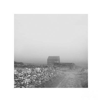 Photograph - Lighter Than Black - Barn by Paul Davenport