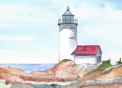 Lighthouse 12 Art Print
