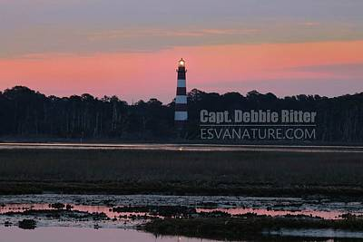 Photograph - Lighthouse 1386 by Captain Debbie Ritter