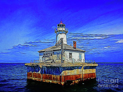 Photograph - Lighthouse 14618 by Ray Shrewsberry