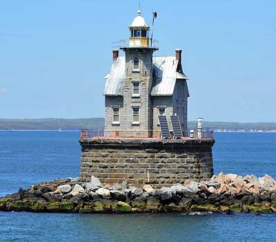 Photograph - Lighthouse 2-c by Charles HALL