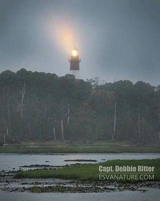 Photograph - Lighthouse 7990 by Captain Debbie Ritter