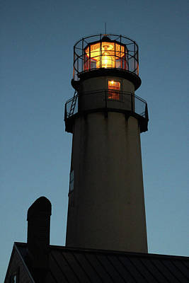 Photograph - Lighthouse Aglow by Robert Banach