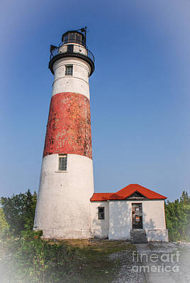 Photograph - Lighthouse And Entry by Grace Grogan