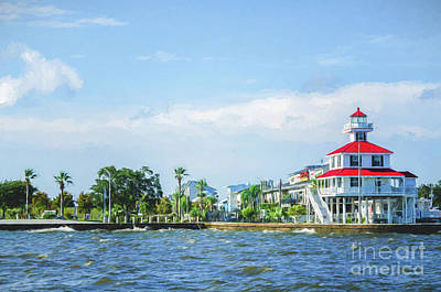 Photograph - Lighthouse And Lakefront - New Orleans by Kathleen K Parker