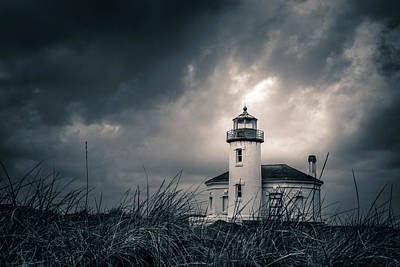 Photograph - Lighthouse At Bandon, Oregon by Scott Slone