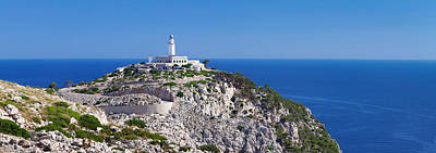 Majorca Photograph - Lighthouse At Cap De Formentor by Panoramic Images