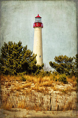 Photograph - Lighthouse At Cape May Point by Carolyn Derstine