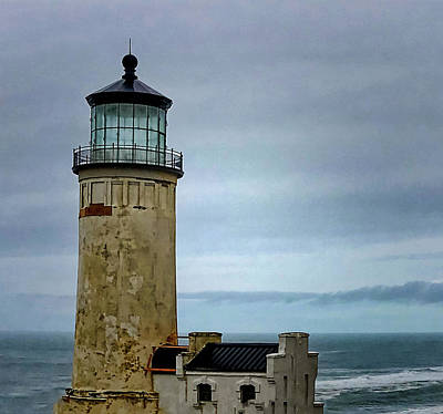 Photograph - Lighthouse At Early Evening by Susan Crossman Buscho