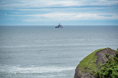 Photograph - Lighthouse At Ecola State Park by Anthony Doudt