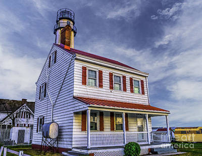 Photograph - Lighthouse At Fenwick Island by Nick Zelinsky