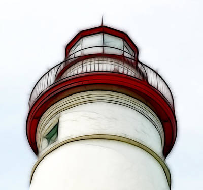 Photograph - Lighthouse At Marblehead by Kathleen Stephens