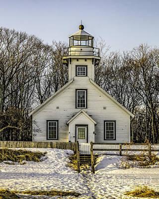 Photograph - Lighthouse At Mission Point by Nick Zelinsky