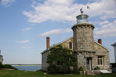 Photograph - Lighthouse At Stonington Ct by Margie Avellino