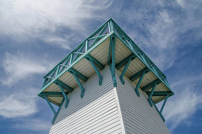 Art Print featuring the photograph Lighthouse At Summerside Seaside Market. by Rob Huntley