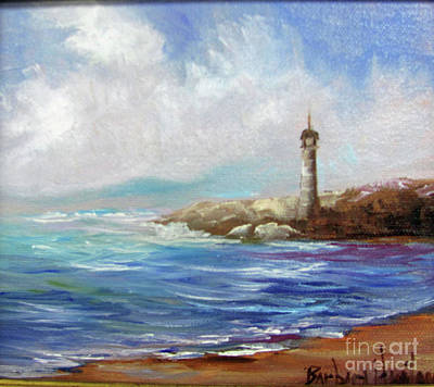 Painting - Lighthouse  by Barbara Haviland