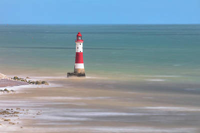Down East Photograph - Lighthouse Beachy Head - England by Joana Kruse