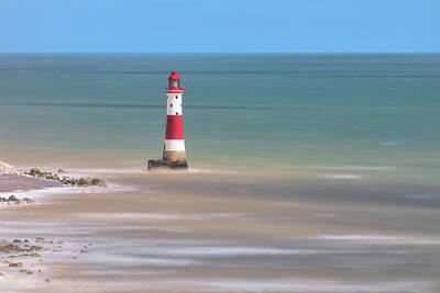 Down East Photograph - Lighthouse Beachy Head - England by Joana Kruse