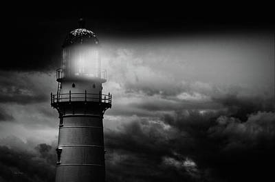 Photograph - Lighthouse by Bob Orsillo