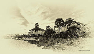 Guides Photograph - Lighthouse Boca Grande by Marvin Spates