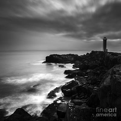 Photograph - Lighthouse By The Sea by Gunnar Orn Arnason
