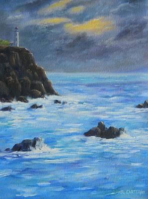 Carter.oil Painting - Lighthouse  Carter by John Carter
