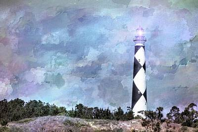 Photograph - Lighthouse by Ches Black