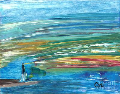 Painting - Lighthouse by Corinne Carroll