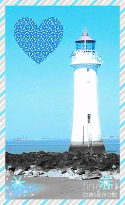 Photograph - Lighthouse Design 2 by Joan-Violet Stretch