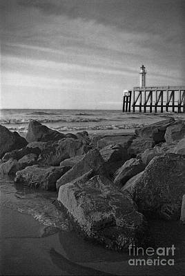 Photograph - Lighthouse by Hans Janssen