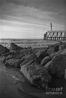 Photograph - Lighthouse by Hans Janssen