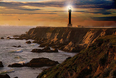 Photograph - Lighthouse  by Harry Spitz