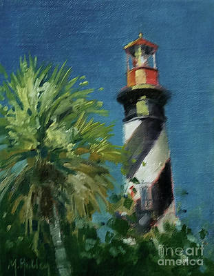 Painting - Lighthouse Impressions by Mary Hubley