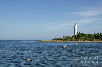 Photograph - Lighthouse In The Baltic Sea by Kennerth and Birgitta Kullman
