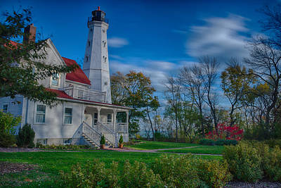 Photograph - Lighthouse In The Park by Jonah Anderson