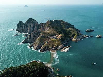 Photograph - Lighthouse Island by Roy Cruz