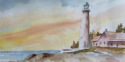 Lighthouse Art Print by Jim Stovall