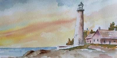 Lighthouse Art Print by Jim Stovall
