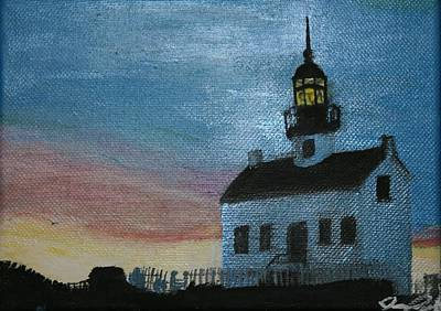 Painting - Lighthouse by Joanna Aud