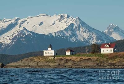Photograph - Lighthouse Juneau Alaska by Loriannah Hespe
