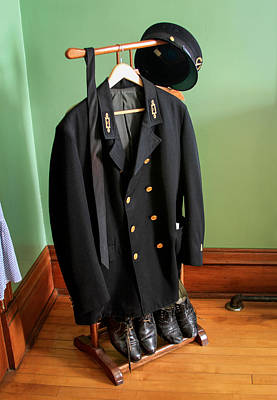 Photograph - Lighthouse Keeper Uniform by Bonnie Follett