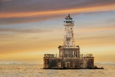 Lighthouses Mixed Media - Lighthouse Keepers by Lori Deiter