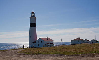 Photograph - Lighthouse Labrador by Tatiana Travelways