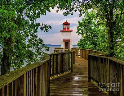 Photograph - Lighthouse Landing - Kentucky by Nick Zelinsky