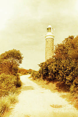 Beacon Wall Art - Photograph - Lighthouse Lane by Jorgo Photography - Wall Art Gallery