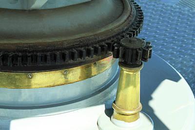 Photograph - Lighthouse Lens Gears by James Eddy